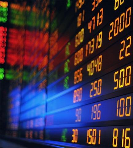 illustration indices boursiers