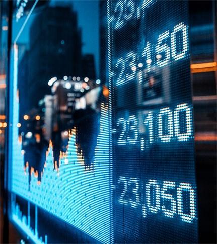 illustration actions boursières