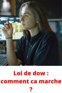 Loi de dow